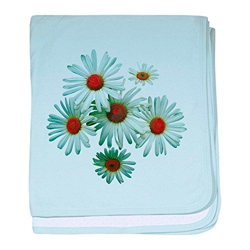 CafePress–Circle of daisies Baby Decke–Baby Decke, Super Weich Für Neugeborene Wickeldecke, baumwolle, himmelblau, Standard