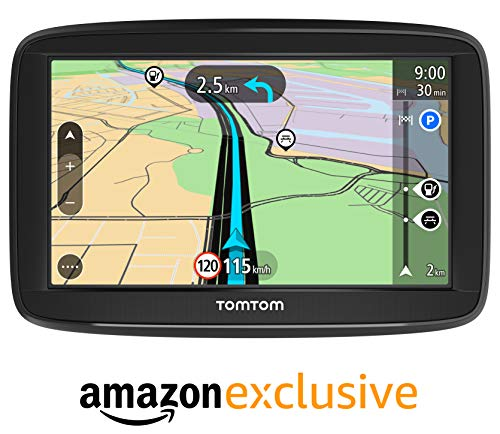 TomTom Start 52 Lite Pkw-Navi (5 Zoll, mit EU-Karten, resistivem Display, Amazon Exklusiv)