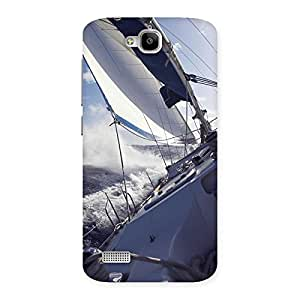 Falling Boat Back Case Cover for Honor Holly