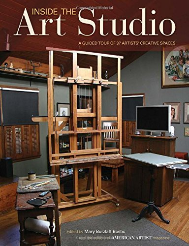 Inside The Art Studio: A Guided Tour of 37 Artists' Creative Spaces (2014-12-17)
