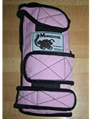 Mongoose Equalizer Bowling Wrist Support Right Hand, Small, Pink by Mongoose Products