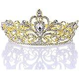 Remedios Kristall Strass Hochzeit Braut Diadem Festzug Prinzessin Stirnband Krone Kopfschmuck