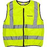 Veste de moto jaune fluo pour homme & femme - taille: M-XXL -  jaune -  XL