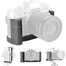 XT10 Grip Vertical Shoot Hand Grip QR Quick Release L Plate Soporte de cámara para Fuji Fujifilm XT10 X T10 X-T10 XT20 X T20 X-T20