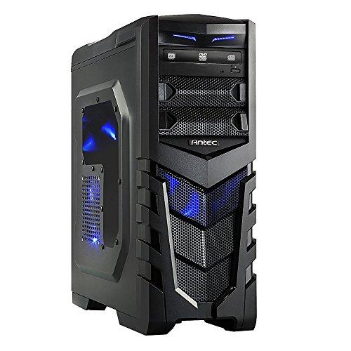 Preisvergleich Produktbild one GameStar-PC Pro · Intel i5-7600k (4 x 4.20GHz) · 4 GB Nvidia GeForce GTX 1050 Ti · 8GB RAM · 240GB SSD + 1000GB HDD · MSI Z270 PC Mate · Windows 10 Home · Leiser Gaming-PC · VR Ready
