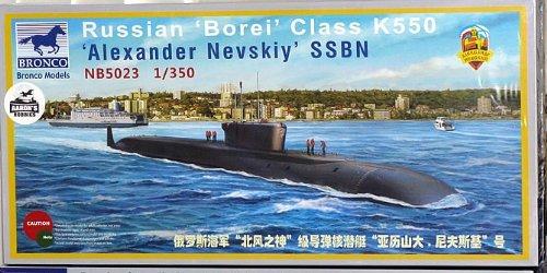 Unbekannt Bronco Models nb5023-Maqueta de Russian borei Class K de 550Alexander nevsk