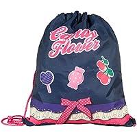 Target Candy, diseño de Flor Bolsa, 38 cm, Azul Vaquero Oscuro