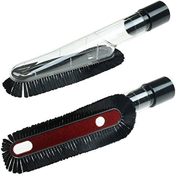 dust brush attachment at
