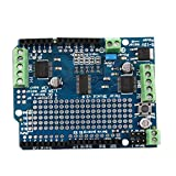 Dailyinshop Blue Motor/Stepper/Servo/Robot Shield For Arduino v2 with PWM Driver Shield