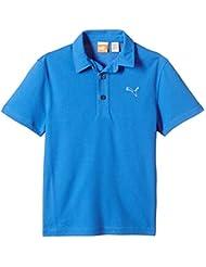 Puma Golf Tech–Polo de manga corta para niño, camiseta, color Azul - Strong Blue, tamaño 6 años (116 cm)