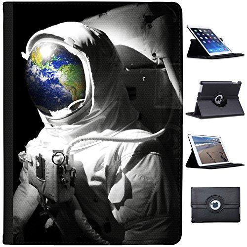 """Astronautenanzug & Spiegelbild der Erde Case Cover / Folio aus Kunstleder für das Apple iPad Pro 12"""""""