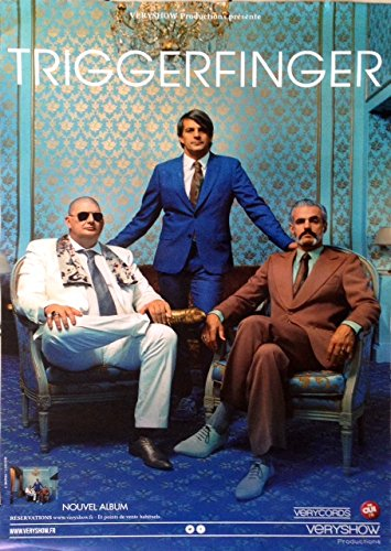 triggerfinger - 70 x 100 cm Mostra/Poster
