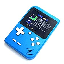 Mini Game Boy 8 bit Classic Color Screen | 168 Emblematic Games Retro Vintage Nostalgia 90 | Ready to Play | Trend 2018