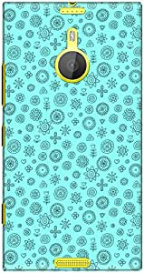 The Racoon Lean printed designer hard back mobile phone case cover for Nokia Lumia 1520. (Rangoli Cy)