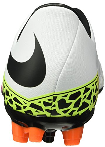 Nike Herren Hypervenom Phelon Ii Ag-r Fußballschuhe Blanco (blanco (bianco / Nero-totale Arancione-volt))