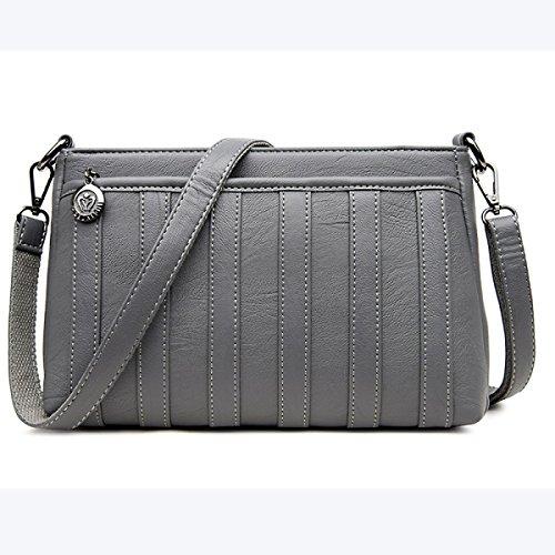 Dame Handbag Schultertasche Messenger Bag Fashion Einfache Elegant Trendy Shell Bag Wild C
