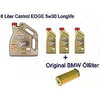 Aceite para el motor Edge 5w30 de Castrol, 8 l (BMW E46 E90 E92