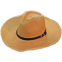 Black Temptation Herren Hüte Strandhut Strohhut Faltbarer Cowboy Breathable Hat