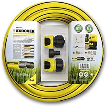 Kärcher - Set de tubos para limpiadora alta presión, color negro y amarillo