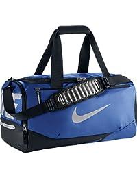 Nike Vapor Max Air Small Duf - Bolsa para hombre, color azul / negro / plata, talla única