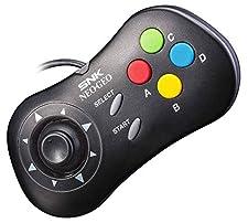 NEOGEO Mini Console Official Control Pad: Black (NEOGEO Mini)