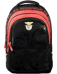 Benfica Lissabon 173ben204bis Rucksack Unisex Kinder, Rot