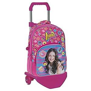 Disney 33924M1 Yo Soy Luna Mochila Escolar, 29.57 litros, Color Rosa