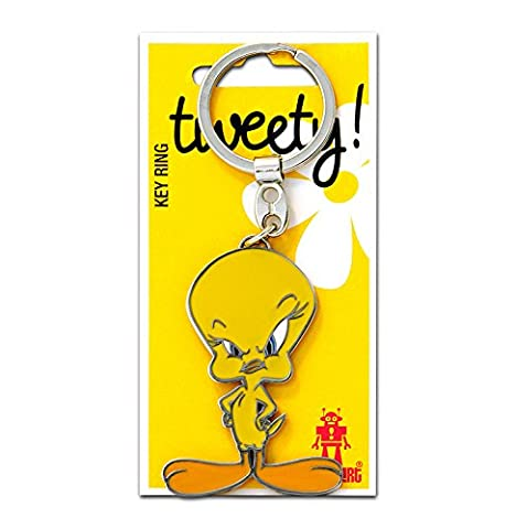 Key-Ring Tweety - Keychain Looney Tunes - Tweety Bird -