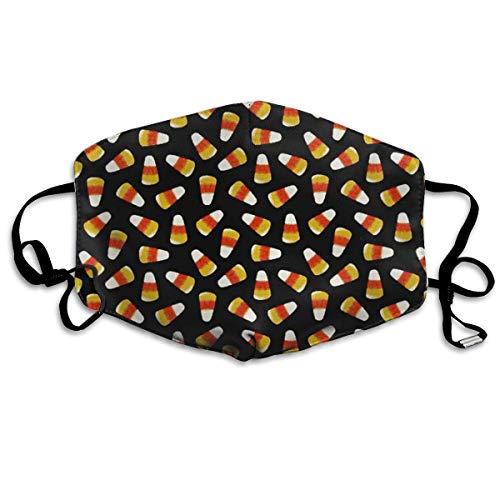 ske,Anti Staub Schutzhülle,Halloween Candy Corn Allergy & Flu Mask - Comfortable, Washable Protection from Dust, Pollen, Allergens, with Antimicrobial; Asthma Mask ()
