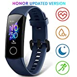 HONOR Band 5 Smartwatch Orologio Fitness Tracker Uomo Donna Pressione Sanguigna Smart Watch Cardiofrequenzimetro da Polso Contapassi Smartband Sportivo Activity Tracker