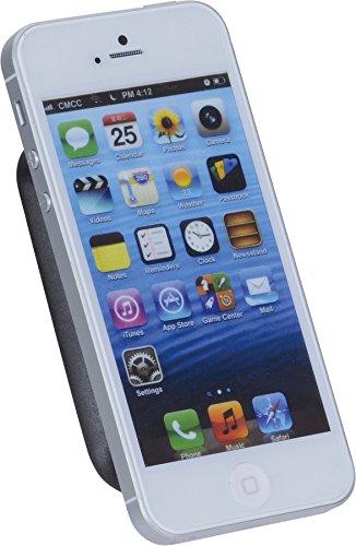 hr-imotion MAGNA-TEC Universalhalterung für alle Smartphones, Phablets, Navigationsgeräte und kleine Tablets [5 Jahre Garantie | Made in Germany | Selbstklebend | Gepolstert] - 21010001