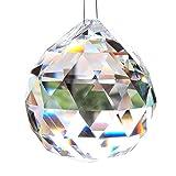 Kotak Sales Big Crystal Diamond Bead Hanging Decoration,3Cm ,20 Pieces