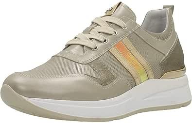 NeroGiardini - Sneaker Laminata Platino