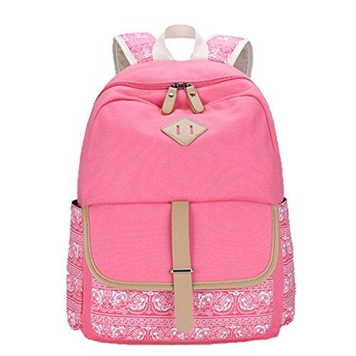 OPSUN Taille Pink Rucksackhandtasche Damen Unique rRTwr