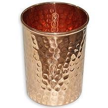cobre puro martillado producto ayurvédico vaso para la curación de accesorio drinkware, capacidad de 250 ml