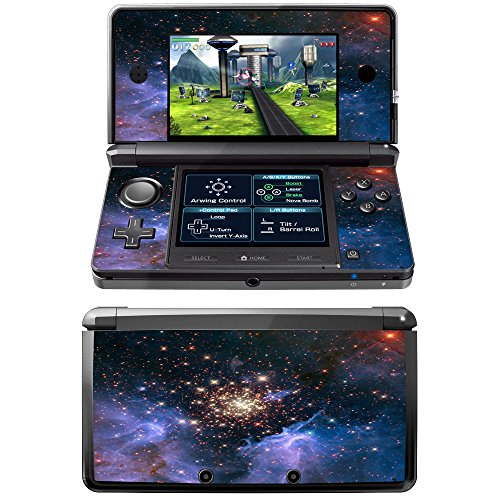 milky-way-skin-sticker-vinyl-cover-with-leather-effect-laminate-and-colorful-design-for-nintendo-3ds