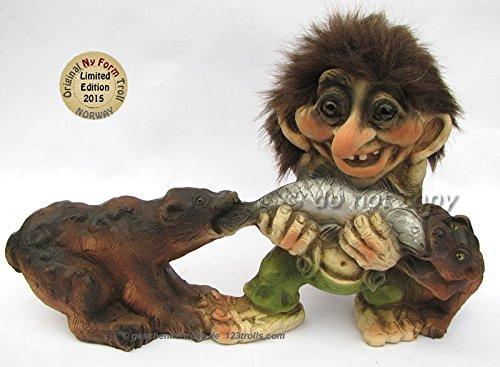 Ny Form Troll, limitierte Auflage 2015, Troll mit 2 Bären
