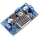 Mit Digitalvoltmeter-Anzeige LM2596S geregelte Energieumwandlungsmodul, LM2596 DC-DC justierbares Dollar-Modul 4.0 ~ 40V zum Transformator 1.25 ~ 37V mit LED-Anzeige, geregelte Energieversorgungsmodul -