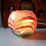 Cristal de sal de proyección/dormitorio noche mesa bisutería creativos Decoración Luz nocturna/Himalaya–Lámpara de sal