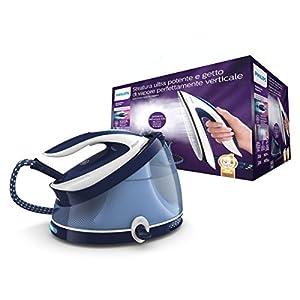 Philips Ferri a vapore Ferro da stiro con caldaia PerfectCare Aqua PRO, Tecnologia OptimalTEMP, Colpo Vapore 440g, Pressione 6.5 bar, 2100 W, 2.5 Litri, Blu/Bianco 2 spesavip