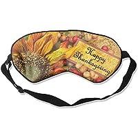 Happy Thanksgiving Sunflowers 99% Eyeshade Blinders Sleeping Eye Patch Eye Mask Blindfold For Travel Insomnia... preisvergleich bei billige-tabletten.eu