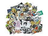 Vinyl Sticker mit diversen Comic, Brands, etc. Motiven, Menge: 200 Stück
