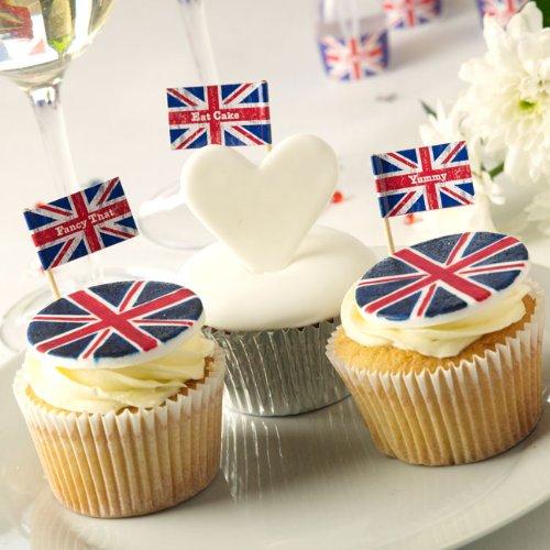 Mini-Flagge Cupcake Picks