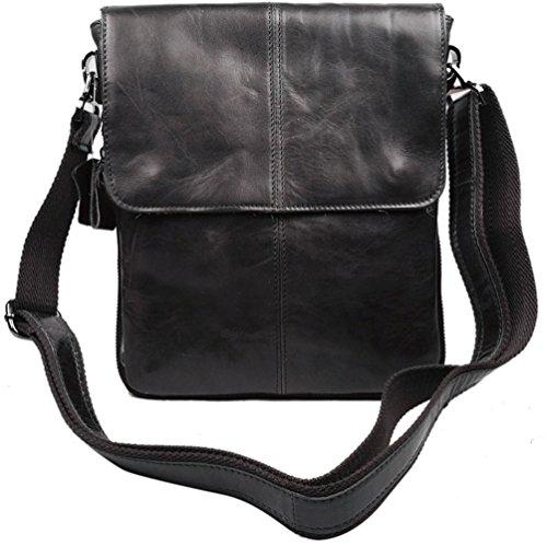 Style New Bag Coach (insum Herren Leder Business Aktentasche Bag, Braun - Kaffee - Größe: One size)