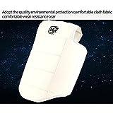 Dauerhafte weiße Farbe Kampf Sport Boxen Muay Thai MMA Ausbildung Brust Schild Rib Guard Body Protector (Größe : S)