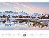Geheime Paradiese 2019, Wandkalender im Querformat (54x42 cm) - Landschaftskalender / Naturkalender mit Monatskalendarium - Ackermann Kunstverlag