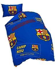 FC Barcelona - Parure de lit simple officielle