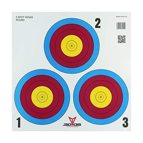 Sportsman's Supply, Inc. .30-06 3 Spot Vegas Paper Target 100 Count (Target Spots)