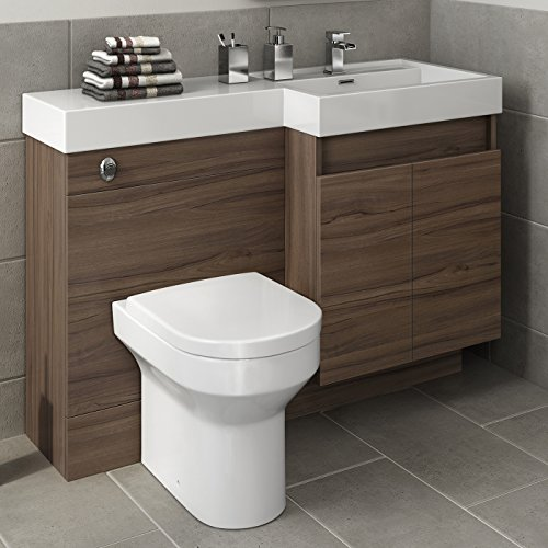 bathroom basin and cabinet 1200 mm modern walnut bathroom vanity unit basin sink 15511