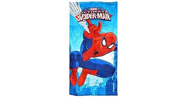 100/% Baumwolle Marvel Spider-Man Handtuch Strandtuch f/ür Kinder Verschiedene Designs 70 x 140 cm Spider-Man Comic